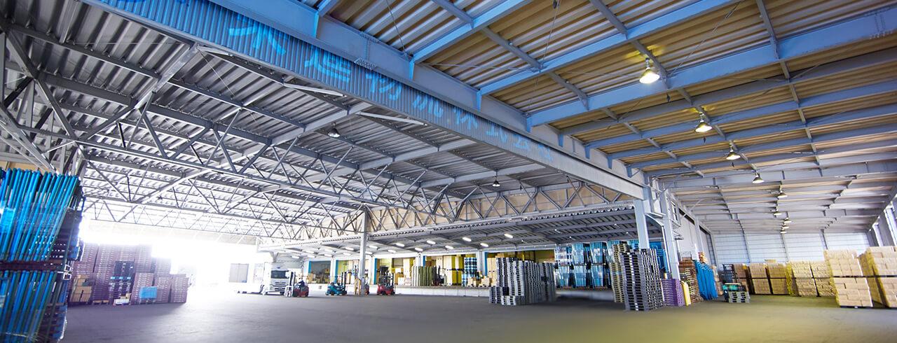 倉庫事業 保管だけでない、中部圏の物流拠点としての役割。