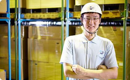 倉庫作業員 2005年入社 Mさん
